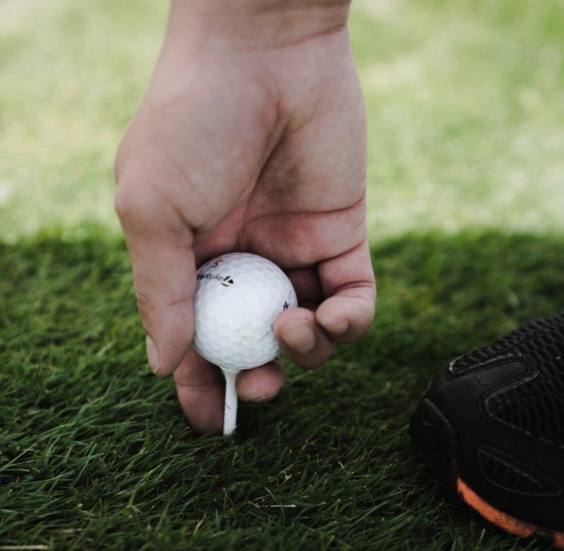 L'importance du tee et du pitch au golf
